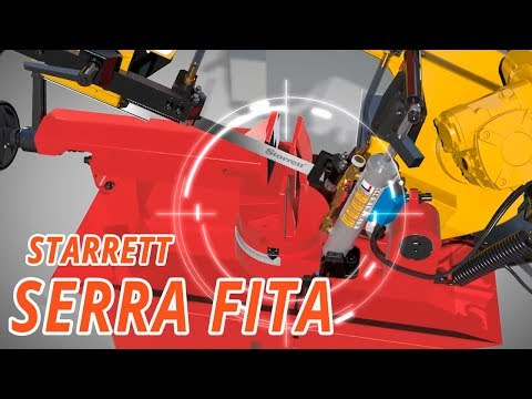 Máquina Serra de Fita  - Video