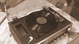昔のレコードプレーヤーを動かしてみた!