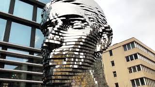 Unique sculptures in Prague by David Černý