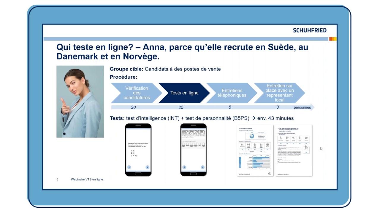 Mettre en place des tests psychologiques en ligne – Avec le Vienna Test System.
