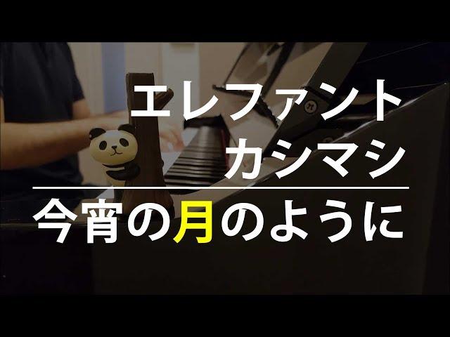 【ピアノ弾き語り】今宵の月のように/エレファントカシマシ by ふるのーと (cover)
