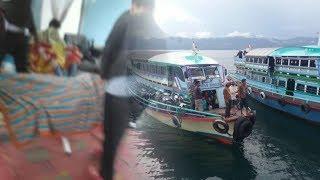 BREAKING NEWS: Kapal Penumpang Lepas Kendali di Danau Toba, 80 Penumpang Terjun ke Danau