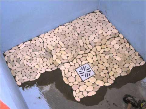 Comment Nettoyer Des Galets Dans Une Douche A L Italienne La
