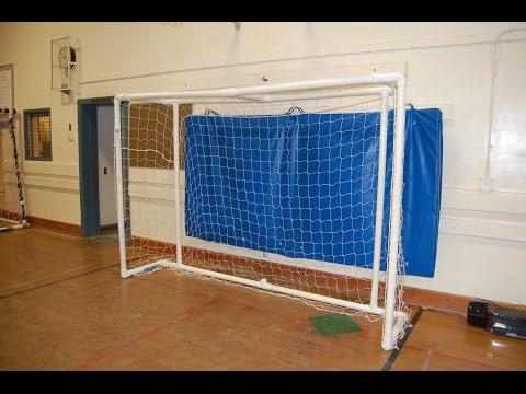 cómo hacer un portería de fútbol o fútbol sala