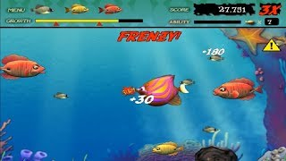 Feeding Frenzy Deluxe - Stage 1 - 24 (Normal Mode)