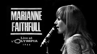 Marianne Faithfull - Live at L'Olympia, Paris 1966 (Go Away From My World, Yesterday, Nuit D'été)