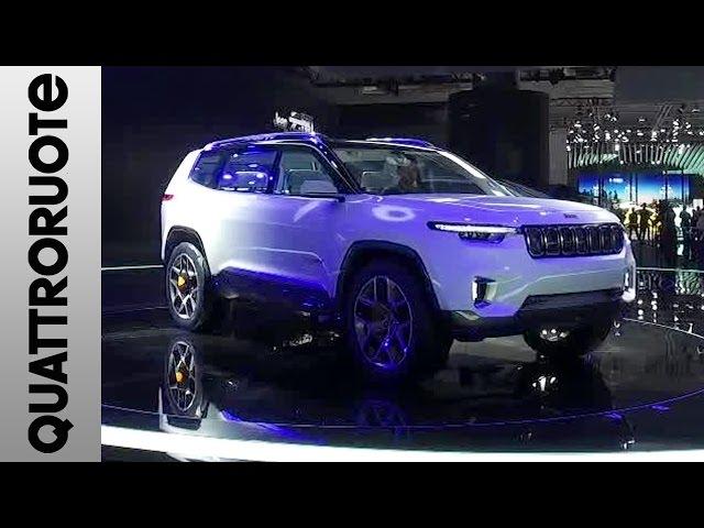Jeep Yuntu al Salone di Shanghai 2017 | Quattroruote