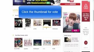 How to vote for Black Pink in Mnet Asian Music Awards MAMA 2016