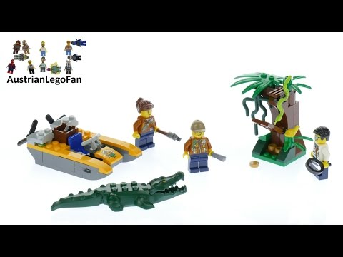 Vidéo LEGO City 60157 : Ensemble de démarrage de la jungle