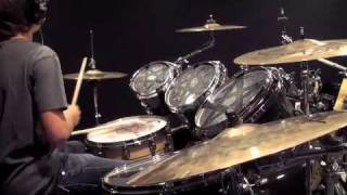 Max Laurenzi: I Just Got This Symphony Goin'- The Fall Of Troy drum cover