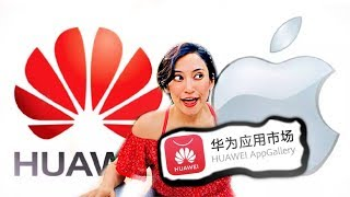 HUAWEI vs. APPLE: Market de APPS para HUAWEI en CHINA!😱🇨🇳