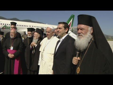 Iστορική συνάντηση των θρησκευτικών ηγετών στην Λέσβο