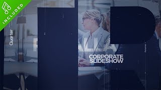 Parallax Corporate Slideshow Template After Effects