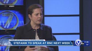 US Representative Elise Stefanik invited to speak at Republican National Convention next week
