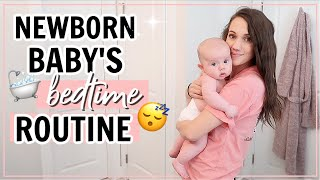 BEDTIME ROUTINE WITH A BABY // NIGHT TIME ROUTINE WITH A NEWBORN // Mommy Night Routine