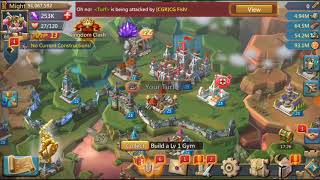 Lords Mobile-Free TO PLAY #TRAP# KvK!!! 375k MARCH ATE!! NO PROBLEM!!