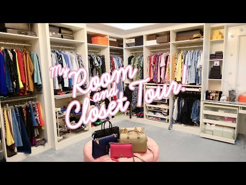 My Room and Closet Tour