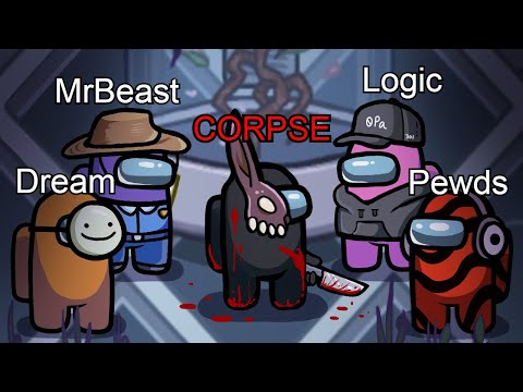THE GREATEST AMONG US CROSSOVER OF ALL TIME (Logic, Dream, PewDiePie, Mr Beast)