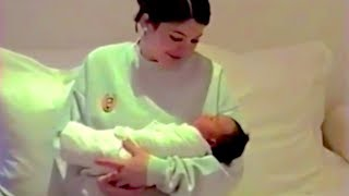 Kylie Jenner Bonds With New Baby