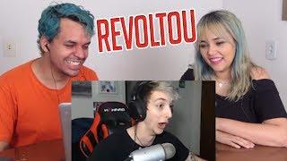 REACT O ZERO SE REVOLTOU | Melhores Clipes (Calango)