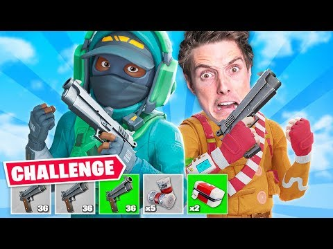 Fortnite Challenge but with LazarBeam...