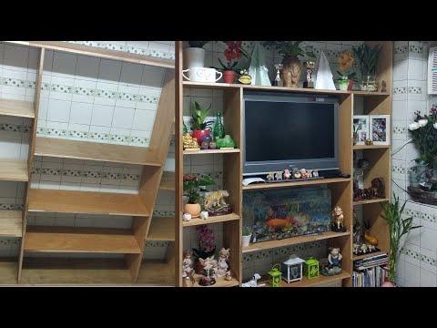 TV STAND | PAANO GUMAWA NG DIVIDER | DIY | How to Make A Divider | Using Simple Hand Tools