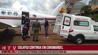 Mais doentes com covid-19 de Coromandel são transferidos, desta vez para Belo Horizonte