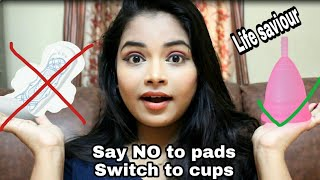 Menstrual Cups | Say No To Pad | How To Use Menstrual Cups | Keerthi Shrathah