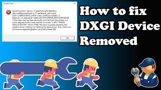 dxgi error device removed mp staging buffer - Thủ thuật máy tính
