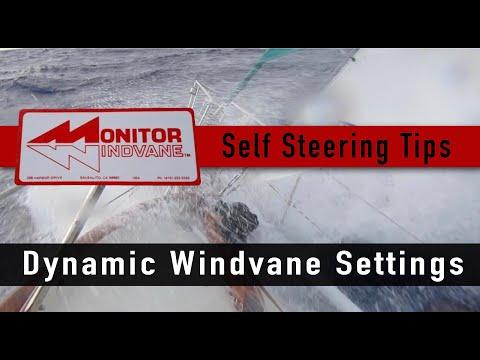 Monitor Windvane Self Steering Tips & Settings