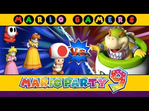 Mario Party 9 Bowser Station