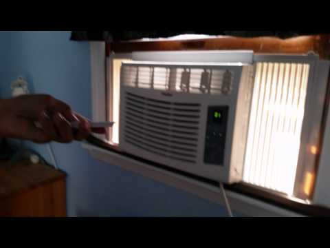 Haier 5000 BTU review electronically controlled Air Conditioner