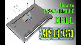LAPTOP MỸ DISASSEMBLE laptop DELL XPS 13 9350