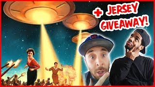 WOULD YOU SURVIVE AN ALIEN INVASION?? + FRESHJERSEY GIVEAWAY!!- Daily Dose S2Ep307