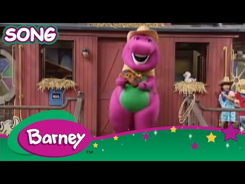 barney old macdonald live action song