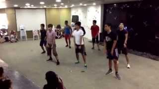 MOVE Dance Clinic 09272014 - 4Minute's Whatcha Doin' Today dance cover (group 3)