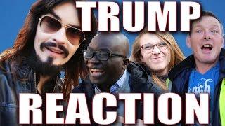 Irish People React to America's - 'PRESIDENT TRUMP!!