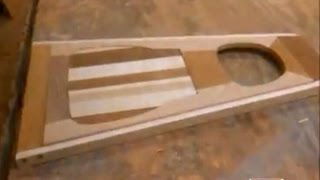 making wooden folding chairs
