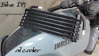 【バイクDIY】#3 トヨタ純正オイルクーラーをCBX125Fに付ける