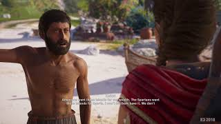 ASSASSIN'S CREED: ODYSSEY Gameplay - E3 2018: Killing A Man For Socrates