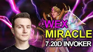 MIRACLE 7.20d Invoker Wex Build against Counterpick Broodmother