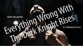 Everything Wrong With The Dark Knight Rises In 3 Minutes Or Less