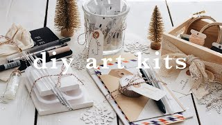 DIY art kits | holiday gift ideas