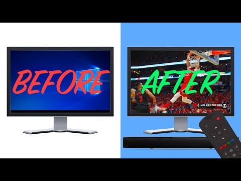 How To Turn A Computer Monitor Into A TV