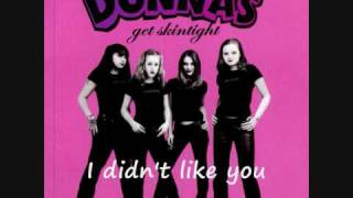 The Donnas I Didn't Like You Anyway [Subtitled]
