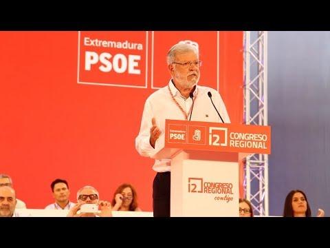 12º CONGRESO REGIONAL DEL PSOE EXTREMADURA