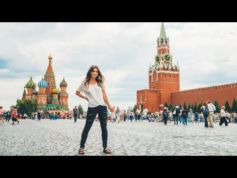 what MOSCOW RUSSIA is REALLY like.. (видео)