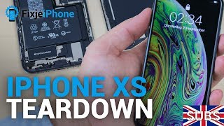 World's First: iPhone XS teardown