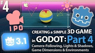 Godot 3 1: Creating a Simple 3D Game: Part 1 (Intro, Nodes