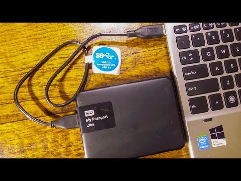Western Digital WD My Passport Ultra Black 2TB External Hard